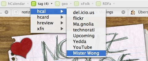 Mister Wong Tag