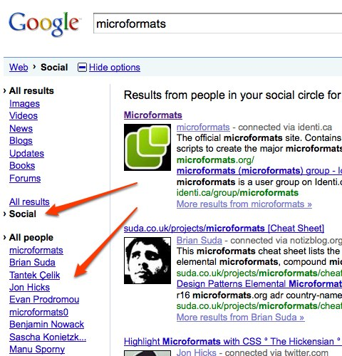Googles Social Search - Overview