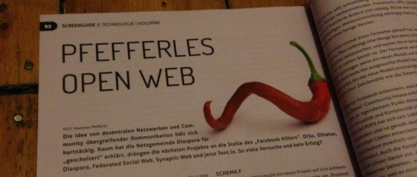 Pfefferles Open Web