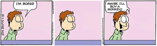 Garfield minus Garfield comic