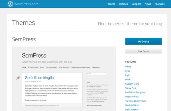 SemPress auf WordPress.com